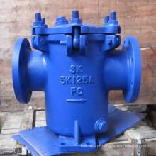 Tipo aberto rápido filtro simples da cesta da tampa aparafusada (SK-1)
