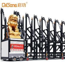 Retractable Fence Gate Automatic Aluminium with Golden Lion Qg-L1728 No Track 15m/Min Aluminun Alloy Cn; Gua Qigong