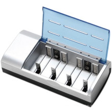 Für 4pcs AA / AAA / D / C / 9V Standard-Batterie-Ladegerät 8182