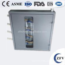 Compteur d'eau extérieur en fonte OPE protéger la taille de la boîte