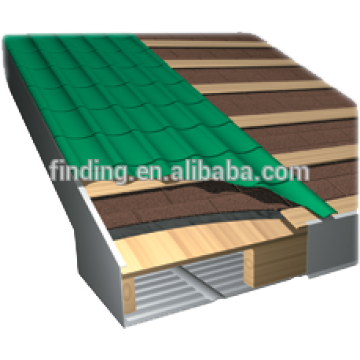 cheap prepainted steel roofing sheet/color coated tile roofing/new product roofing tile