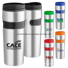Easy Grip Customized Stainless Steel Travel Mugs