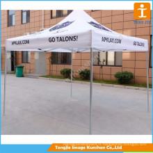 Grande tente de promotion mobile extérieure personnalisée