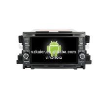 Quad core! Dvd do carro com link espelho / DVR / TPMS / OBD2 para 7 polegadas tela sensível ao toque quad core 4.4 sistema Android MAZDA CX-5