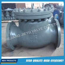 Full Open Flanged Cast Steel Swing Check Valve Price