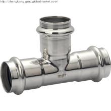 Stainless Steel Pipe fitting Equal Tee