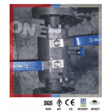 F304ss RF End Double Block and Bleed Valve for Spain