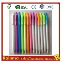 Haga clic en la pluma de gel con color colorido