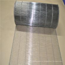 Bande transporteuse en acier inoxydable portable petit treillis métallique