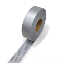 High Visibility washable 3m 9910 retro reflective fabric strip tape  for reflective safety workwear