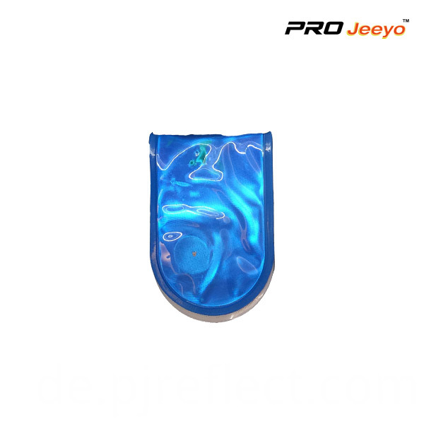 Reflective Pvc Blue Led Light Magnetic Clip For Bagscj Pvc004