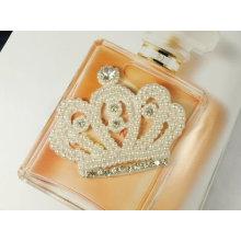 Дверь Vintage Crown Брошь, украшенная бриллиантами из горного хрусталя ручной работы BH04