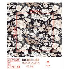 Tecido de nylon de impressão de flores de moda