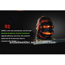 Machine de soudure d'inverseur de 100-400A / petit éclaboussement / frappe chaude / type d'IGBT