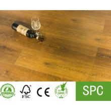 Revêtement de sol composite en plastique pierre SPC