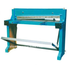 manual sheet metal shearing machine