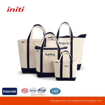 INITI Art- und Weisegewohnheit Standardgröße Leinentaschen Großverkauf