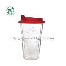 Двойная стеклянная бутылка воды воды (9 * 6 * 14 335ml)