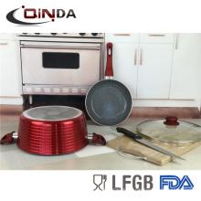Set de utensilios de cocina de pintura metálica 3 piezas