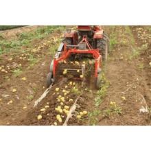 Kartoffel-Ernte-Mähdrescher