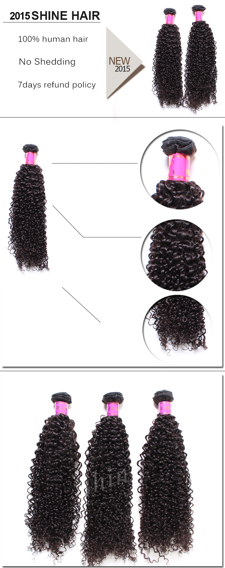 Kinky curly details