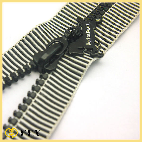 Custom Special Plastic Zipper