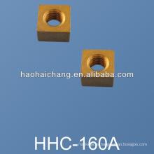Arandela de bloqueo de orificio cuadrado de latón no estándar de alta precisión del OEM
