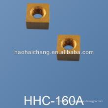 Rondelle de verrouillage de trou carré en laiton non standard de haute précision d'OEM