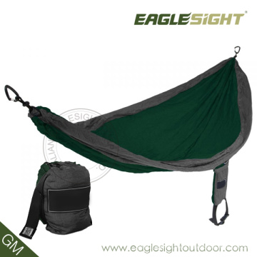 Travelling Nylon Hammock (with Straps on Pouch)