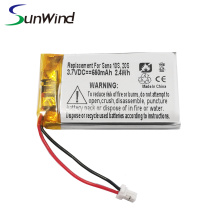 Replacement Bluetooth headset Sena 10s 20s Battery