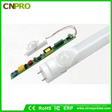 Luz del tubo del sensor LED de la luz T8 PIR del tubo del precio LED del poder más elevado