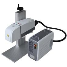 Pequeña máquina de la marca del laser de la fibra para la joyería / máquina de la marca de fábrica del laser de la joyería
