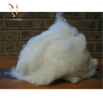 Pure Cashmere Fiber Raw Sheep Wool Fiber For Sale