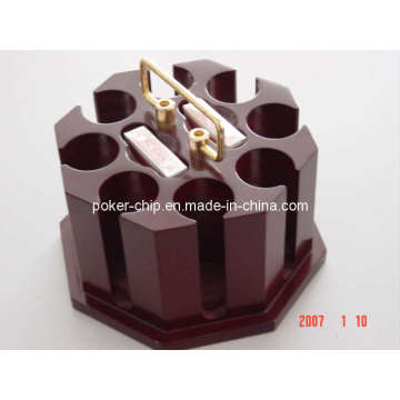 Wooden Rotating Poker Chip Set (SY-S39)