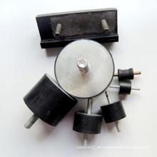 Kundenspezifische zylindrische Gummi Stoßdämpferhalterung