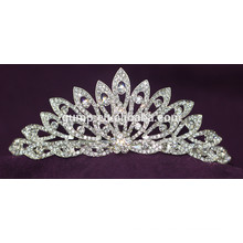 De Buena Calidad Mini Descuento Shiny Cristal Corona De Boda Custom Wedding Tiara
