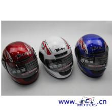 SCL-2014070003 горячие продажи дизайн пользовательских частей шлема для мотоциклов CASCO DE SEGURIDAD