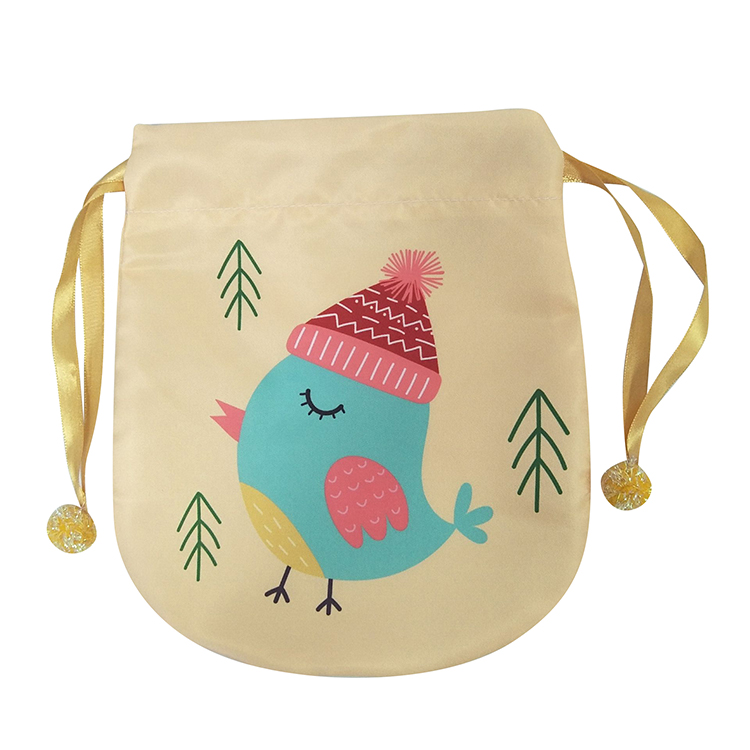 Christmas Little Bird Pattern Sack