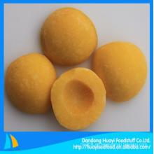Gefrorene gelbe Pfirsichfrucht