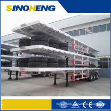 China Factory 40 Ft Container Semi Trailer