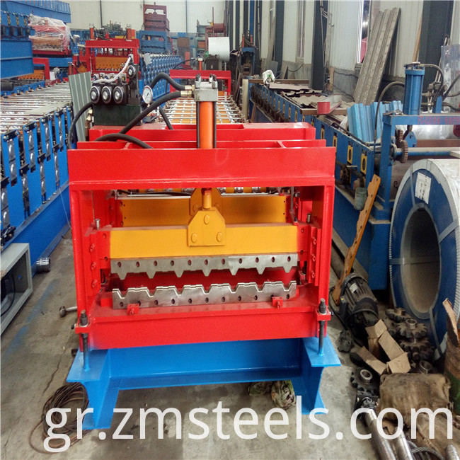 roof wall panel roll forming machine