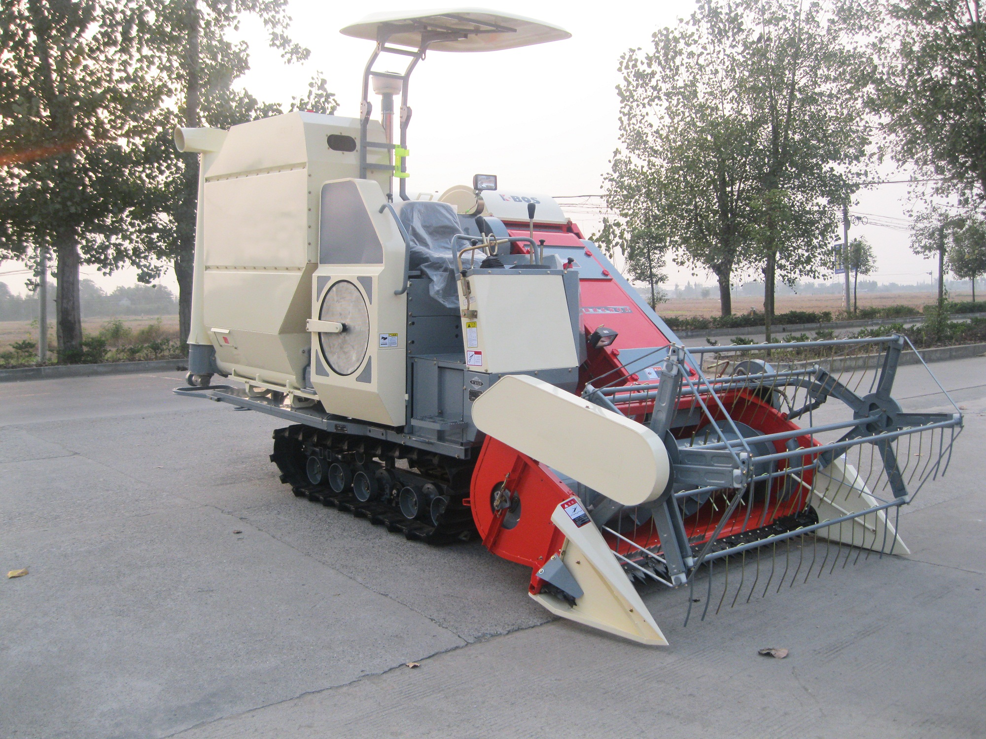 Combine Harvester 3.0kg/s in Red