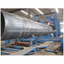 Tubo de acero de la soldadura / uso del tubo de SSAW para la pipeline del agua / pipeline grande del tubo del tubo del diámetro