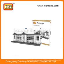 LOZ Fabricação atacado Buckingham palácio diamante brinquedos educativos bloco para crianças