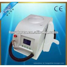 Máquina portátil da remoção do tatuagem do laser / laser portátil do yd do nd para a remoção do pigmento