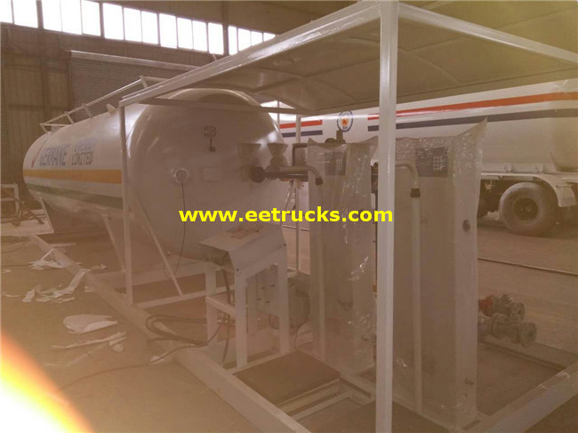 50 CBM LPG Skid Plants