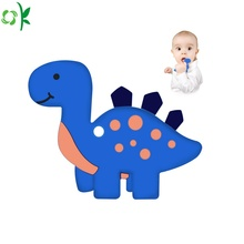 Food Grade Silicone Animal Bijtring voor Baby Toy