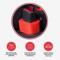 Изготовленный на заказ силиконовый держатель пряжки ремня безопасности автомобиля