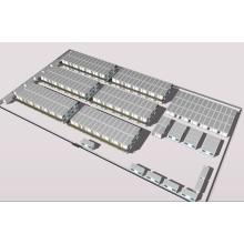 Camp de conteneurs, salon de conteneur, maisons modulaires (CH 15016)