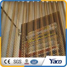 декоративная ячеистая сеть, алюминиевая проволока, сетка потолка